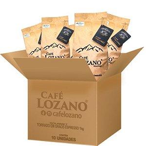 Gourmet 1Kg. Grão Espresso - Caixa com 10 unidades