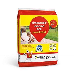 Argamassa Cerâmica Externa AC II CimentCola 20 Kg