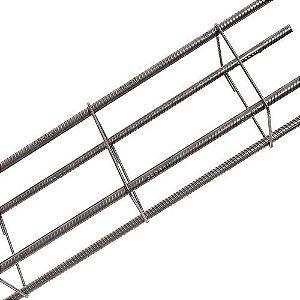 Coluna Aço para Concreto Armado  6mm (7cm x 14cm) - barra c/6m
