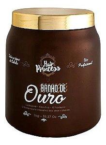 Máscara Banho De Ouro Hair Princess 1kg