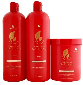 Kit Frutas Vermelhas Riquezas Naturais Hair Princess 3 Passos