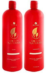 Kit Frutas Vermelhas Riquezas Naturais Hair Princess 2 Passos