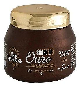 Máscara Banho De Ouro Hair Princess 250g
