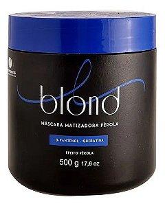 Máscara Matizadora Pérola Blond Hair Princess 500g
