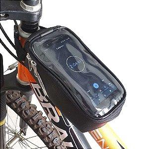 Case Porta Celular Bicicleta para Quadro