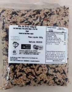 Mix de arroz integral - 500g