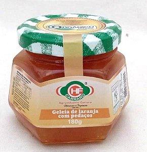 Geleia de laranja com pedaços - 180g