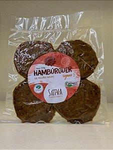 Azukiburguer - Hambúrguer de Feijão Azuki e Batata doce - Vegano e Orgânico - 4un - 300gr
