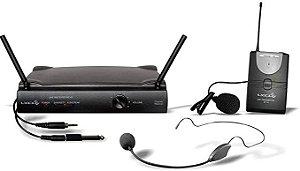 Microfone Lyco sem Fio UH-01HLI Headset/Lapela