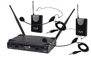 Microfone Lyco Sem Fio UH-02-HLIhLI