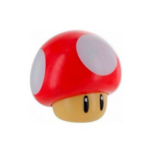 Luminária Paladone Super Mario Bros Light 3D Mushroom