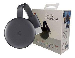 Chromecast 3 Google para TV e Conexão HDMI
