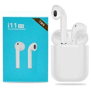 Fone De Ouvido Sem Fio I11 Tws Wireless Iphone e Android (branco)