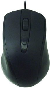 Mouse Optico K-MEX MO-D433 USB Preto 1000 DPI