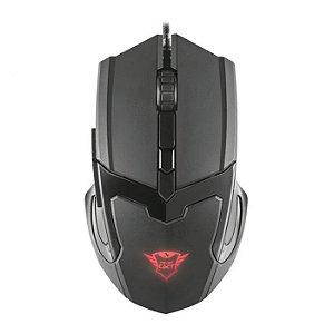 Mouse gamer TRUST GXT101 GAV 4800DPI 6 botões T21044
