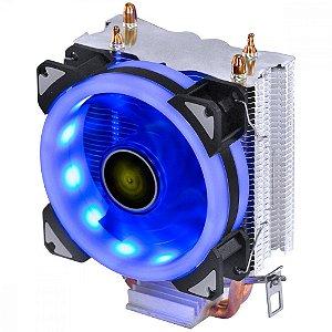 Cooler para Processador Vinik VX Gaming Blitzar LED Azul AMD/Intel - CP310