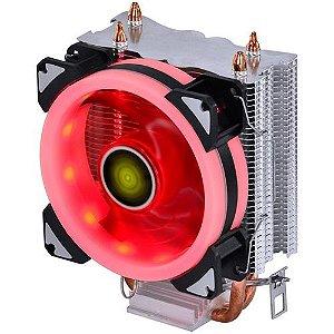 Cooler para Processador Vinik VX Gaming Blitzar LED Vermelho  AMD/Intel - CP300