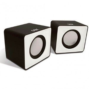 Caixa de Som USB OEX Speaker Cube SK102 - Branca