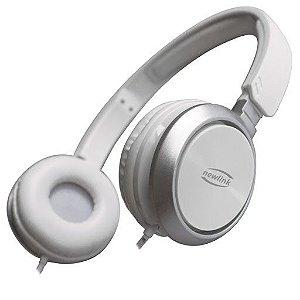 Headset Premium HS115 Branco - NewLink