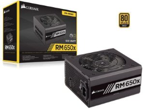 Fonte Corsair 650W 80 Plus Gold Modular RM650X