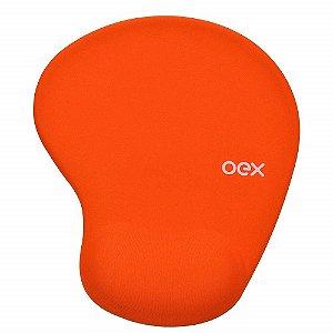 Mousepad Gel Confort Mp200 Laranja - Oex
