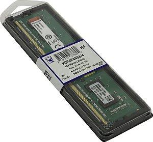 Memória RAM de 4GB DIMM DDR4 2400Mhz 1,2V 1Rx16 para desktop - KCP424NS6/4