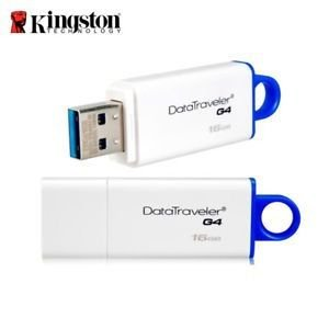 Pen Drive Kingston 16GB Data Traveler USB 3.1 - DTIG4