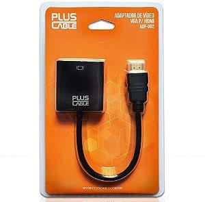 Cabo Adaptador Plus Cable VGA F/ HDMI M ADP-002BK