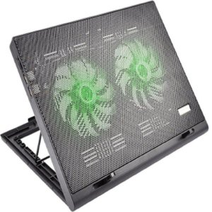 Base com Cooler Para Notebook Multilaser Ac267 Power Gamer - Warrior