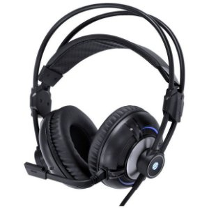 Headset Gamer HP H300 Black 2.1 LED Azul com vibração