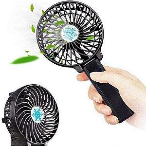 Mini Ventilador Handy Mini Fan Portátil Mão Usb Recarregável