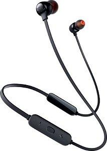 Fone de Ouvido Bluetooth JBL Tune 115BT com Microfone Recarregável - JBLT115BTBLK