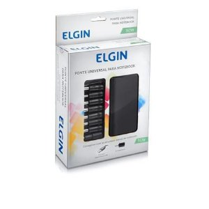 Fonte Universal Para Notebook 90w Com 9 Conectores - Elgin