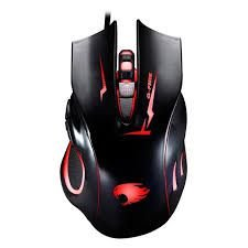 Mouse Gamer Ergonomico 6 Botoes Led Color 2400 DPI MOGT2 - GFIRE