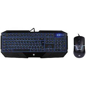 Kit Teclado E Mouse Gamer Gk1100 - Hp