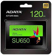 SSD SU650 120GB SATA Leitura - ASU650SS - Adata