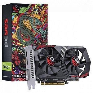 Placa De Video Nvidia Geforce Gtx 1050 Ti 4gb Gddr5 128 Bits - PCYES