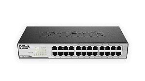 Switch 24 Portas 10/100 Mbps Des-1024d - D-Link