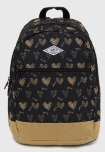 Mochila love preto/bege JLOV122801 -  JUMP UP