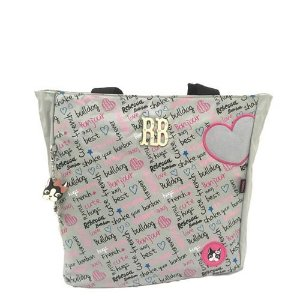 Bolsa Tote Bag Notebook Cinza - Rebecca Bonbon