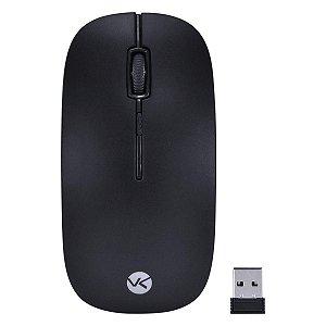 Mouse Sem Fio 2.4 Ghz 1600 Dpi Dynamic Flat Preto - Dm100 - Vinik