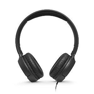 Fone de Ouvido JBL Tune, 3.5m, Preto - JBLT500BLK