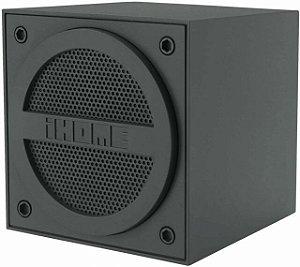 Caixinha de som Mini Alto Falante Portátil iBT16 G Bluetooth Cinza- iHome