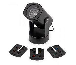 Luminária projetor com inserts preta - Imaginarium
