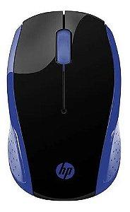 Mouse Sem Fio 200 Oman 1000dpi Azul - Hp