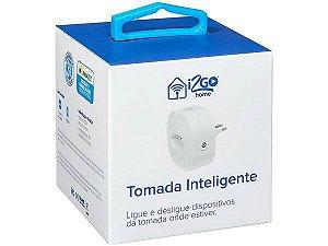 Tomada Inteligente Wi-Fi 10A 01 Tomada - Home I2GWAL034 - I2GO
