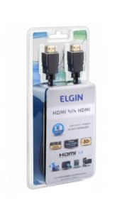 Cabo Hdmi Full Hd 3 Metros - Elgin