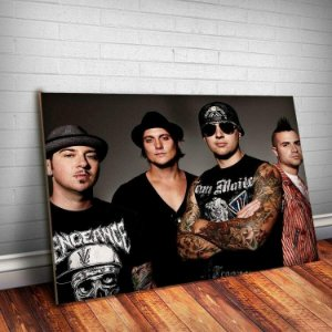 Placa Decorativa Avenged Sevenfold 4