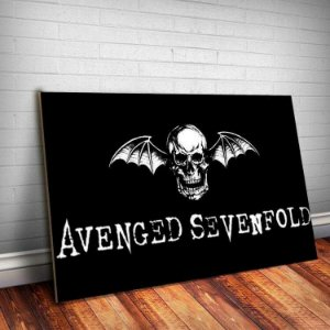 Placa Decorativa Avenged Sevenfold 5