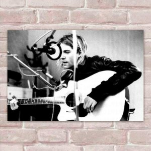 Placa Decorativa Kurt Cobain 8